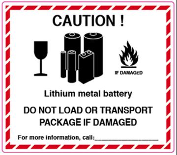 Bild på Litiumbatterier