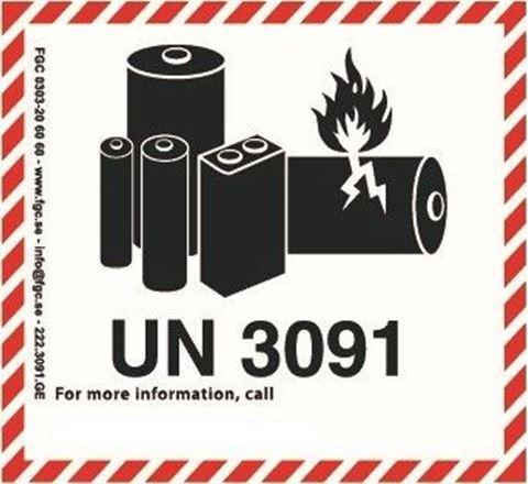 Bild på Litiumbatterier 3091